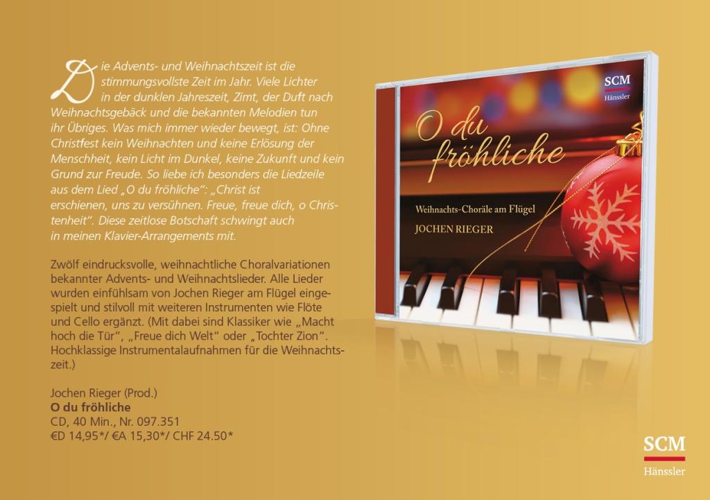 Jochen Rieger, Produzent, Komponist, Pianist, Herausgeber, WiGa ...